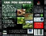 miniatura The Lost World Jurassic Park Trasera Por Umbrellacorporation cover psx
