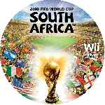 miniatura 2010 Fifa World Cup South Africa Cd Custom Por Eltamba cover wii