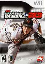 miniatura 2ksports Mayor League Baseball 2k9 Frontal Por Sadam3 cover wii