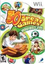 miniatura 30 Great Games Outdoor Fun Frontal Por Sadam3 cover wii