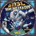 miniatura Alien Monster Bowling League Cd Custom Por Menta cover wii