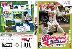 miniatura Backyard Baseball 09 Dvd Custom Por Juaniblade cover wii