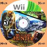 miniatura Cabelas Big Game Hunter 2008 Cd Custom V2 Por Menta cover wii