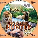 miniatura Cabelas Big Game Hunter 2012 Cd Custom Por Menta cover wii