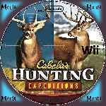 miniatura Cabelas Hunting Expeditions Cd Custom Por Menta cover wii
