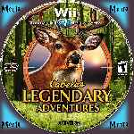 miniatura Cabelas Legendary Adventure Cd Custom Por Menta cover wii