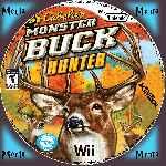 miniatura Cabelas Monster Buck Hunter Cd Custom Por Menta cover wii