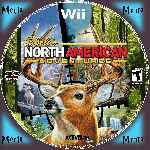 miniatura Cabelas North American Adventures Cd Custom V2 Por Menta cover wii