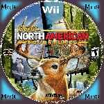 miniatura Cabelas North American Adventures Cd Custom V2 Por Menta cover wii