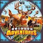 miniatura Cabelas Outdoor Adventures Cd Custom Por Menta cover wii