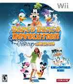 miniatura Dance Dance Revolution Disney Grooves Frontal Por Duckrawl cover wii