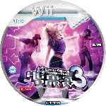 miniatura Dance Dance Revolution Hottest Party 3 Cd Custom Por Nemo2001 cover wii