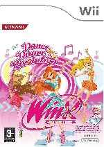 miniatura Dance Dance Revolution Winx Club Frontal Por Sadam3 cover wii