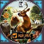 miniatura Deer Drive Cd Custom Por Menta cover wii
