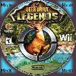 miniatura Deer Drive Legends Cd Custom Por Menta cover wii