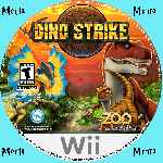 miniatura Dino Strike Cd Custom Por Menta cover wii