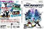 miniatura Disney Epic Mickey 2 The Power Of Two Dvd Custom Por Humanfactor cover wii