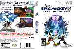 miniatura Disney Epic Mickey 2 The Power Of Two Dvd Custom V2 Por Navegantesolo cover wii