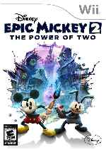 miniatura Disney Epic Mickey 2 The Power Of Two Frontal Por Humanfactor cover wii