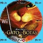 miniatura El Gato Con Botas Cd Custom Por Menta cover wii