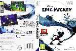 miniatura Epic Mickey Dvd Custom Por Andresrademaker cover wii