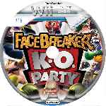 miniatura Facebreaker Ko Party Cd Custom Por Obijuan cover wii
