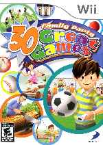miniatura Family Party 30 Great Games Frontal Por Humanfactor cover wii