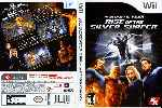 miniatura Fantastic Four Rise Of The Silver Surfer Dvd Por Dvds cover wii