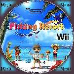miniatura Fishing Resort Cd Custom Por Menta cover wii
