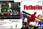 miniatura Futbolin Dvd Custom Por Spyner cover wii