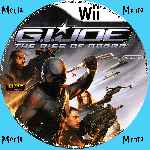 miniatura G I Joe The Rise Of Cobra Cd Custom V2 Por Menta cover wii