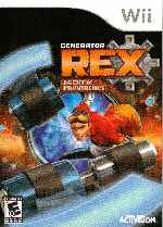 miniatura Generator Rex Agent Of Providence Frontal Por Humanfactor cover wii
