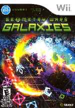 miniatura Geometry Wars Galaxies Frontal Por Humanfactor cover wii