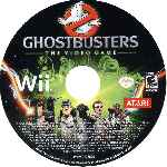 miniatura Ghostbusters The Video Game Cd Por Sadam3 cover wii