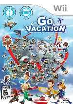 miniatura Go Vacation Frontal Por Johannavergaravergar cover wii