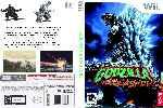 miniatura Godzilla Unleashed Dvd Custom Por Antoxo cover wii