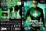 miniatura Green Lantern Rise Of The Manhunters Dvd Custom Por Humanfactor cover wii
