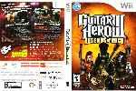 miniatura Guitar Hero 3 Legends Of Rock Dvd Por Hugo Correnti cover wii