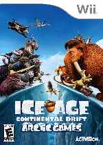 miniatura Ice Age Continental Drift Arctic Games Frontal Por Humanfactor cover wii