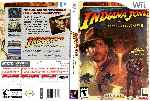 miniatura Indiana Jones And The Staff Of Kings Dvd Custom Por Humanfactor cover wii