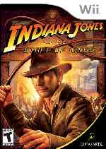 miniatura Indiana Jones And The Staff Of Kings Frontal Por Javilonvilla cover wii