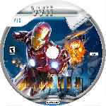 miniatura Iron Man Cd Custom Por Alfonso4 cover wii