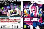 miniatura Just Dance 4 Dvd Custom Por Djkar cover wii