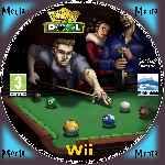 miniatura King Of Pool Cd Custom Por Menta cover wii