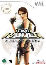 miniatura Lara Croft Tomb Raider Anniversary Frontal Por Elmaka cover wii
