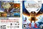 miniatura Legend Of The Guardians The Owls Of Gahoole Dvd Custom Por Humanfactor cover wii