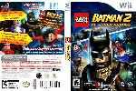 miniatura Lego Batman 2 Dc Super Heroes Dvd Custom Por Humanfactor cover wii
