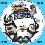 miniatura Los Pinguinos De Madagascar El Regreso Del Dr Espiraculo Cd Custom Por Menta cover wii