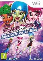 miniatura Monster High Skultimate Roller Maze Frontal Por Humanfactor cover wii