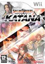 miniatura Samurai Warriors Katana Frontal Por Humanfactor cover wii